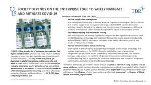 Society depends on the enterprise edge to safely navigate and mitigate COVID-19