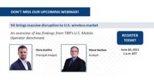 Webinar: 5G brings massive disruption to U.S. wireless market