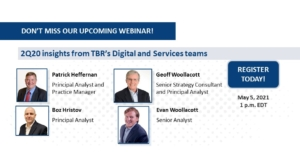 Blockchain webinar: 2Q21 insights from TBR's Digital and Services teams