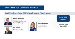 Edge computing webinar: 2Q20 insights from TBR's Services and Cloud teams
