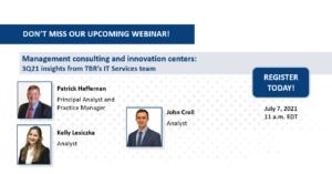 Webinar: Management consulting and innovation centers 3Q21