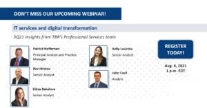 Webinar: 3Q21 IT Services and Digital Transformation Insights