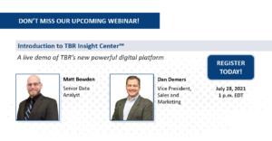 Webinar: TBR Insight Center launch