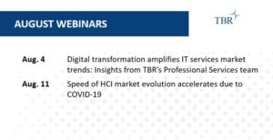 TBR August 2021 Webinars for Market Intelligence and Competitive Intelligence