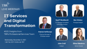 TBR Webinar: 4Q21 IT Services and Digital Transformation Insights